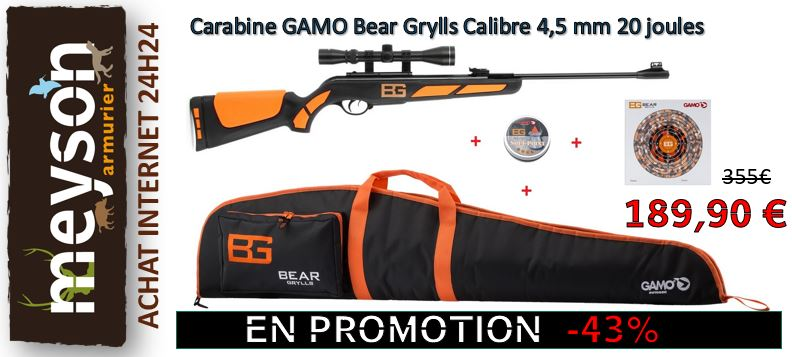Carabines à plomb GAMO - Armurerie Meyson - Achat - Prix bas en