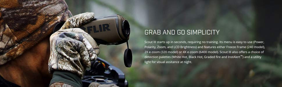 camera thermique FLIR SCOUT III